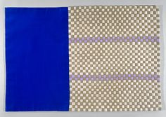 Untitled, 2002  Woven fabric  41.3 x 59.7 cm / 16 1/4 x 23 1/2 in