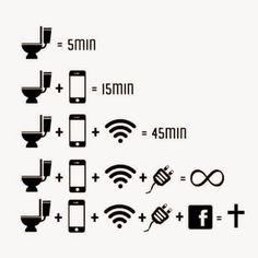 Imagem e Frases Facebook: Você e seu celular