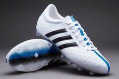 adidas 11Pro FG - White/Core Black/Solar Blue