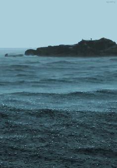 Rain on Waves.
