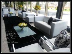 Lounge corporativo branco