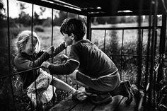Ze Besloten Om Hun Kinderen Uit De Buurt Van Technologie Op Te Laten Groeien: De Foto's Zijn Om Weg Bij Te Dromen