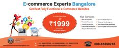 Top Web development company in Bangalore. Specialized web design company with latest optimization technique for large scale web and mobile apps. We offer MEAN stack development, cloud application development, eCommerce website development. Call: +91 9986372359, email: sales@ecommerceexpertsbangalore.com
