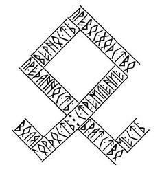 Slavic tattoos: photos of the best examples, known . - Slavic tattoos: photos of the best examples, meaning, sketches - Nordic Symbols, Viking Symbols, Viking Art, Viking Runes, Mayan Symbols, Egyptian Symbols, Ancient Symbols, Slavic Tattoo, Norse Mythology Tattoo