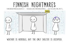 Finnish Nightmares That Every Introvert Will Relate To Finnish Memes, A Funny, Hilarious, Learn Finnish, Finnish Words, Comic, My Roots, Secret Love, Laugh Out Loud