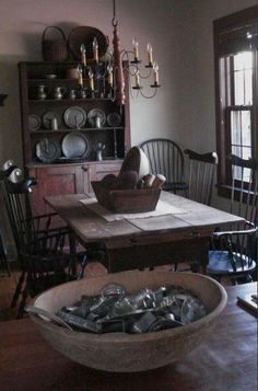 28 Best Primitive Dining Rooms Ideas Primitive Dining Rooms Colonial Decor Country Decor