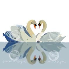 'Mute Swans' snewdesigns