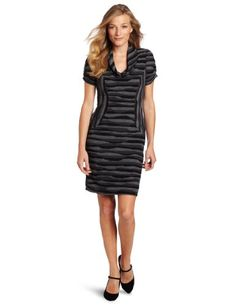 Evan Picone Women's Knit Cowl Neck Short Sleeve Dress, Multi, 14 Jones New York,http://www.amazon.com/dp/B008U8XO70/ref=cm_sw_r_pi_dp_ajAHsb0X5ZZMJANN