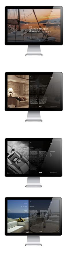Neptune Luxury Yatch by nero design, via Behance