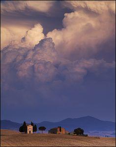 Cappella di Vitaleta, Tuscany, Italy