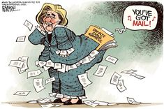 FBI seizes Clinton Email Server |POLITICALLY INCORRECT CARTOONS | TOTUS | Pinterest | Clinton N'jie, Cartoon and Html
