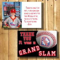check out b8428 b3c9d Philadelphia Phillies 4x6 Thank You Note Cards