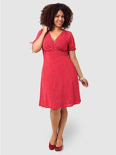 80d1307641f Riley Dress by Igigi This fits like a glove. Love it Plus Size Looks