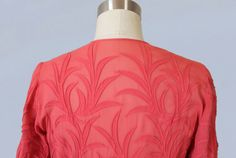 1930er Jahre Kleid / späten 30er Jahren von GuermantesVintage