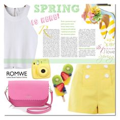 """Spring is here!"" by edita-m ❤ liked on Polyvore featuring Boutique Moschino, Giannico and Kate Spade"