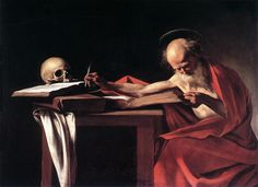 St. Jerome by Carvaggio