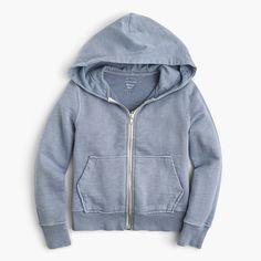 garment dyed hoodie | crewcuts
