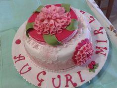 torta con dalie