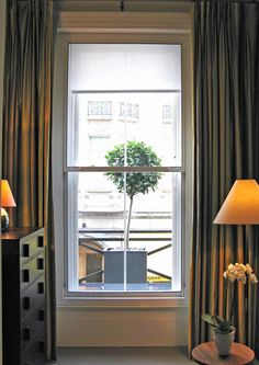 Secondary glazed window in a smart hotel room How To Find Out, Windows, Room, House Ideas, Design, Home Decor, Bedroom, Decoration Home, Room Decor
