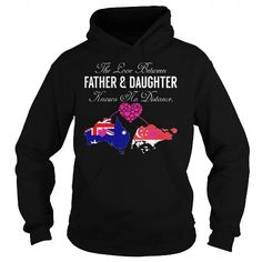 The Love Between Father and Daughter Knows No Distance Australia Singapore T Shirts, Hoodies, Sweatshirts. CHECK PRICE ==► https://www.sunfrog.com/States/The-Love-Between-Father-and-Daughter-Knows-No-Distance--Australia-Singapore-Black-Hoodie.html?41382