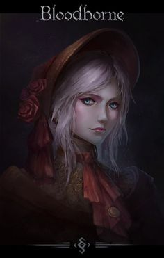 bloodborne 人偶 the doll Anime Meme, Anime Manga, Old Blood, Dark Blood, Fantasy Characters, Female Characters, Soul Saga, Bloodborne Art, Dark Souls Art