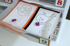 Kindergarten Fine Motor Pokey Pin Activity