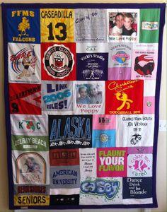 Mosaic T-shirt Quilt