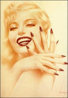 ❤ - Alberto Vargas - Marilyn Monroe