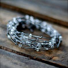 Silver Birds Nest Bracelet