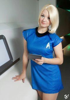 Star Trek Science Officer #cosplay