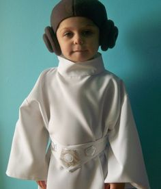 Princess Leia  Costume With Headpiece    Infant by EpicCostumes