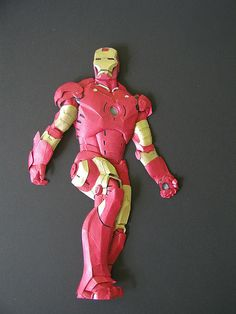 Iron man by papernoodle, via Flickr