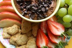 Floral Frosting: Brownie Batter Dip