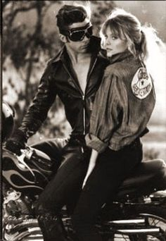 I want a C-O-O-L R-I-D-E-R!! Probably the only person in the world who likes Grease 2 better than Grease 1, Love you Michelle!