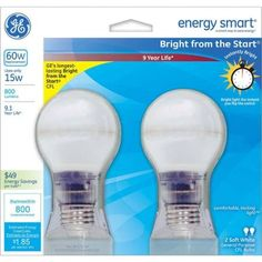 Save on GE Energy Smart bulbs; today only! Paper Floor Lamp, Compact Fluorescent Bulbs, Rice Paper, Home Decor Styles, Dark Wood, Save Energy, Light Bulb, Packing, Walmart