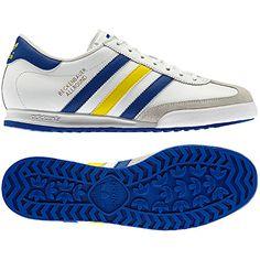 8916684ed7a Men's Beckenbauer Shoes, running white / vivid yellow / true blue, pdp Adidas  Shoes