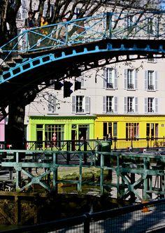 Paris, sus ríos y sus canales.... Canal Saint-Martin