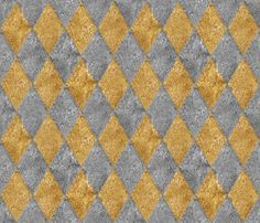 Rharlequin_diamonds___silver_and_gold__mosaic___peacoquette_designs___copyright_2014_shop_preview