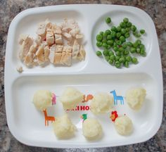 Baby finger food, toddler meal ideas - mommyoutnumbered.com 1