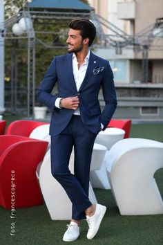20 Latest Engagement Dresses For Men Latest trends in Beauty, Fashion, Indian outfit ideas, Wedding style on your mind? We have something for you! We bring to you hand picked collections for inspiration The Suits, Mens Casual Suits, Stylish Mens Outfits, Mens Fashion Suits, Groom Fashion, Classy Mens Fashion, Blazers For Men Casual, Mens Suits, Engagement Dress For Men
