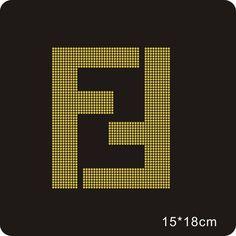 Large New Fendi logo inspire Gold colour Rhinestone Iron ons Rasta Art, Bathroom Mirror With Shelf, Symbol Design, Gold Wallpaper, Little Designs, Diy Canvas, Fendi, Gucci, Designing Women