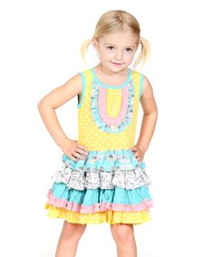 This Yellow Chloe Dress - is perfect! #zulilyfinds I think it was made for my chloe...love it