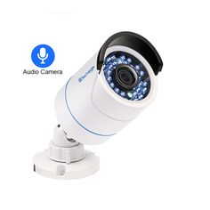Cheap poe ip camera, Buy Quality ip camera directly from China bullet camera Suppliers: Techage HD Security CCTV POE IP Camera Audio Sound Record Waterproof Outdoor Onvif Surveillance Bullet Camera Bullet Camera, Ip Camera, Digital Camera, Dvr Cctv, Android Video, Camera Prices, Outdoor Camera, Blue Led Lights, Audio Sound