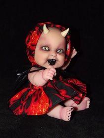 horned demon baby  Crimsonmoondemonbabies.com