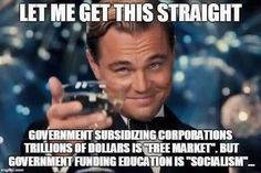 War/CorpSubs/TaxCuts4Rich=OhYes! Education&H.C.=NO!