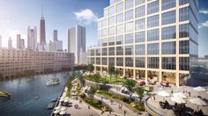 Chicago's Riverside Investment & Development envisions a master planned campus containing 1.5 million square feet of residential and loft office space at 700 W. Chicago Avenue.