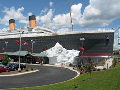 Titanic- World's Largest Museum Attraction in Branson, Missouri