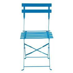 Set di 2 sedie blu GUINGUETTE