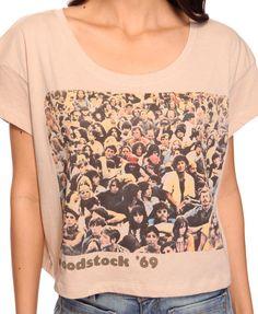 Woodstock '69 Crop Tee