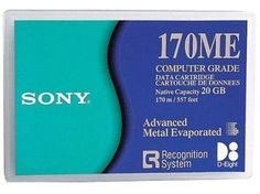 SONY 170m Mammoth Tape 20/ 40GB , Part # QGD-170ME/ QGD170ME by Sony. $60.95. SONY 170m Mammoth Tape 20/ 40GB , Part # QGD-170ME/ QGD170ME LensComputers.com Offers Exabyte Tapes and Also Storage Cases and Exabyte Barcode Labels